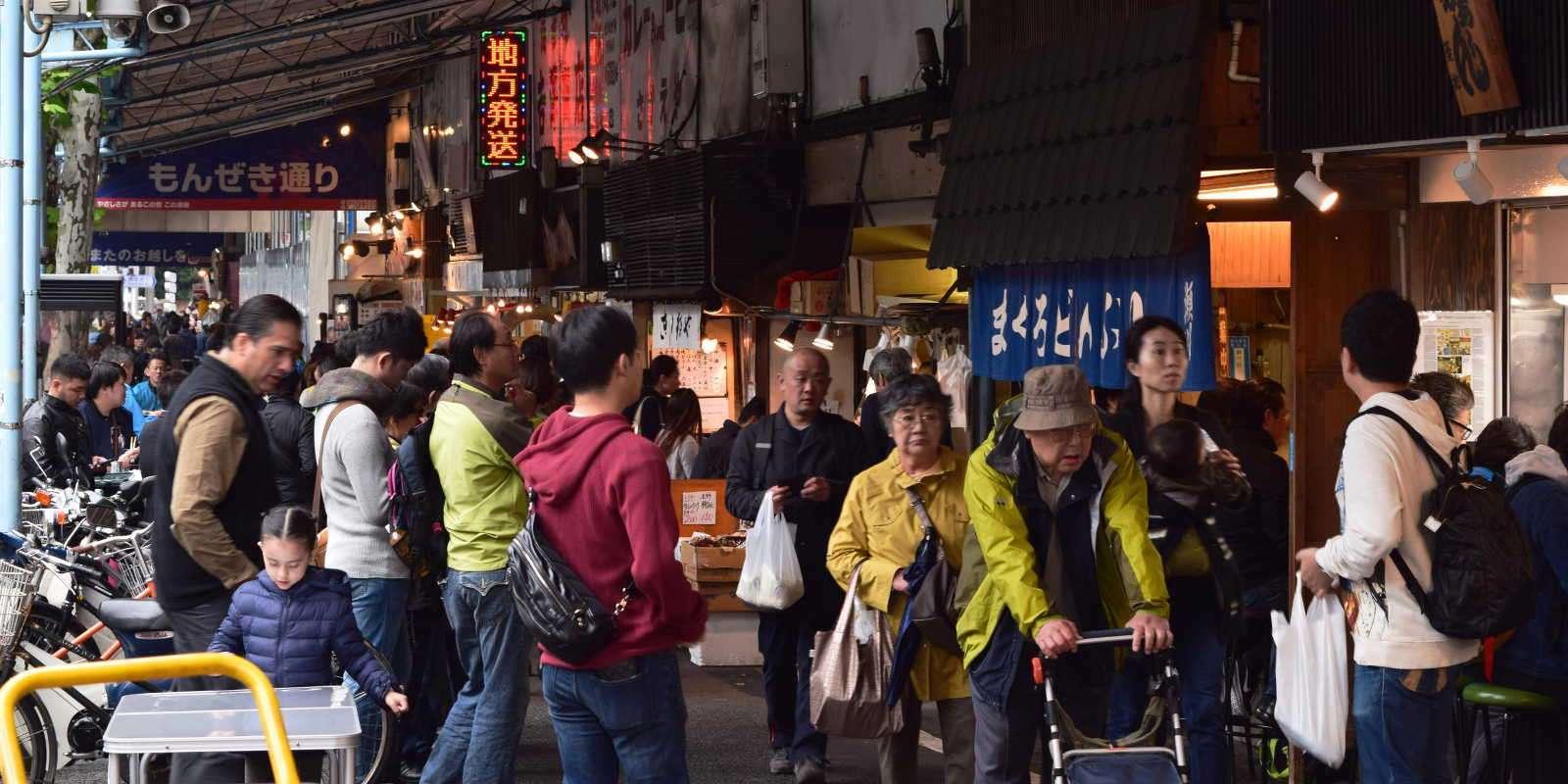 Visiting Tsukiji Market