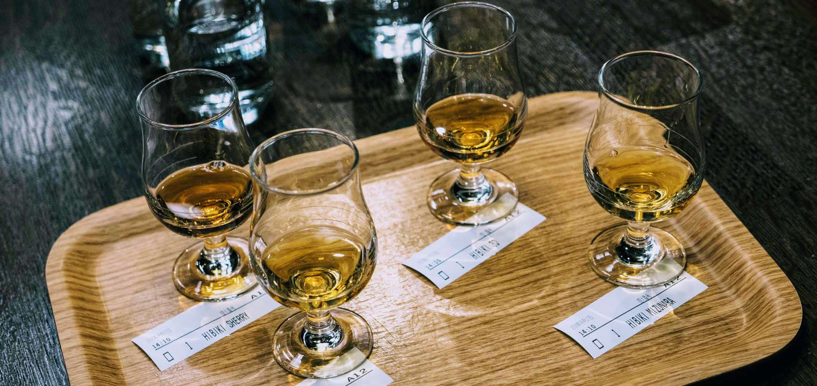 Japanese Whisky Samples Hakushu Distillery