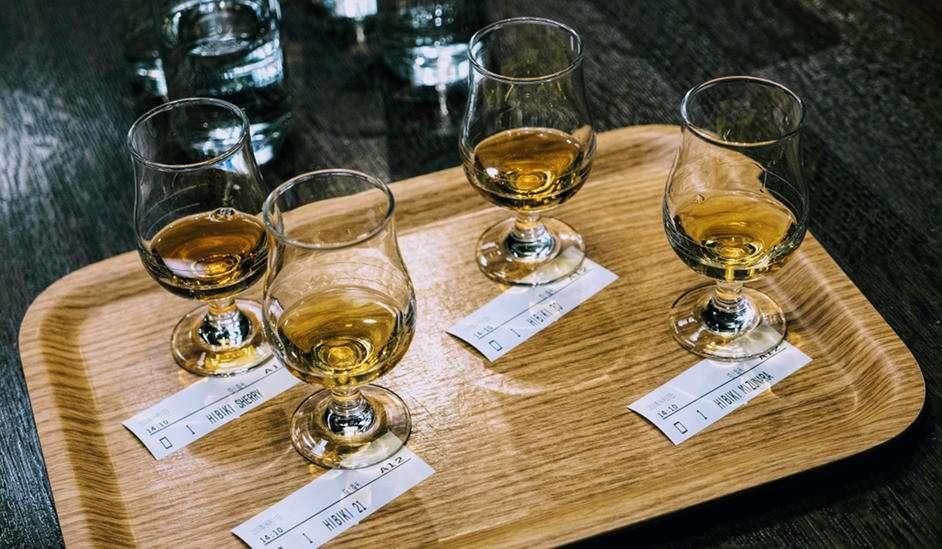 Japanse Whisky Samples