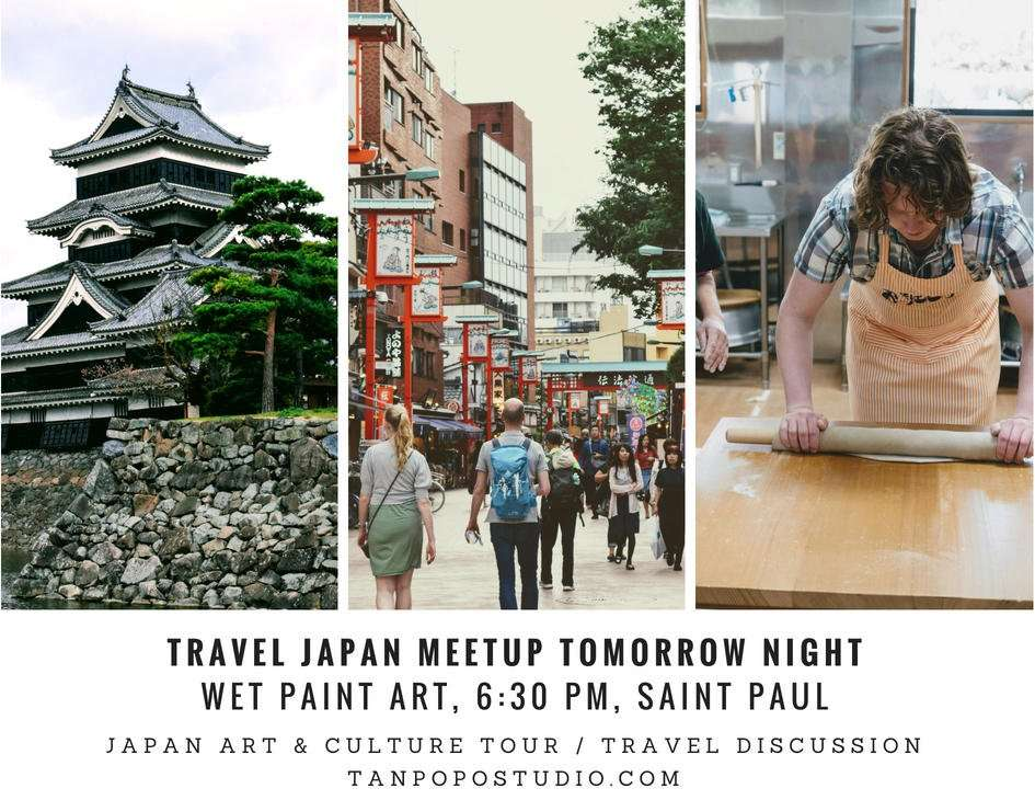 Japan Travel Meetup  June  2018 TanpopoStudio