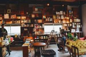 Book Shop in Matsumoto, Japan
