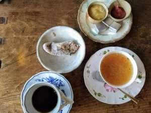Japanese Breakfast at Inn