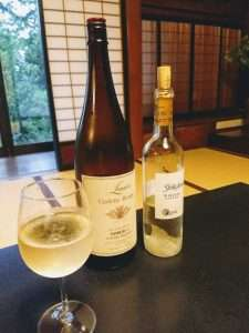 Japanese White Wine From Yamanashi