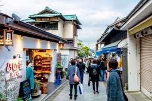 Kamakura Komachi Dori retail shopping stree
