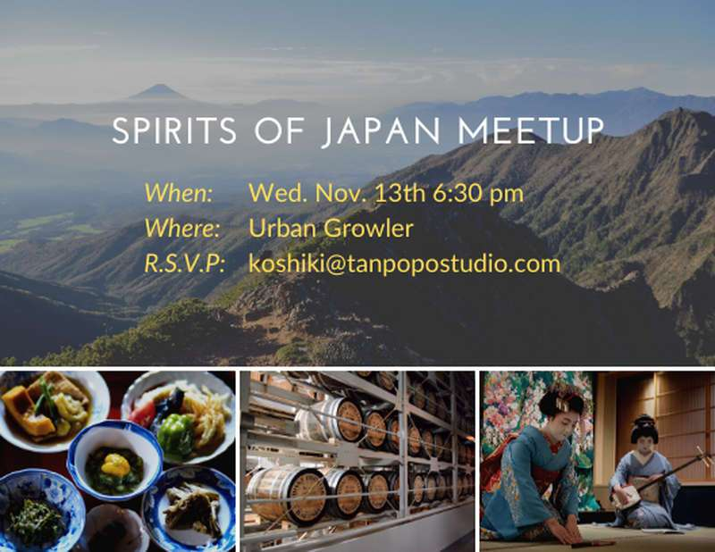 Spirits of Japan Meetup Tanpopo Studio
